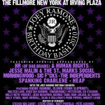 Friends, Fans to Celebrate Joey Ramone's Birthday Benefit Bash at the Fillmore in NYC