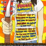 Power Pop-A-Licious 2 Fest Rescheduled for Feb. 1 & 2 at The Cake Shop in NYC