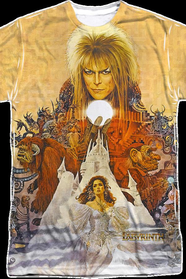 Labyrinth Movie Poster T-Shirt « « Revenge of the 80s Radio